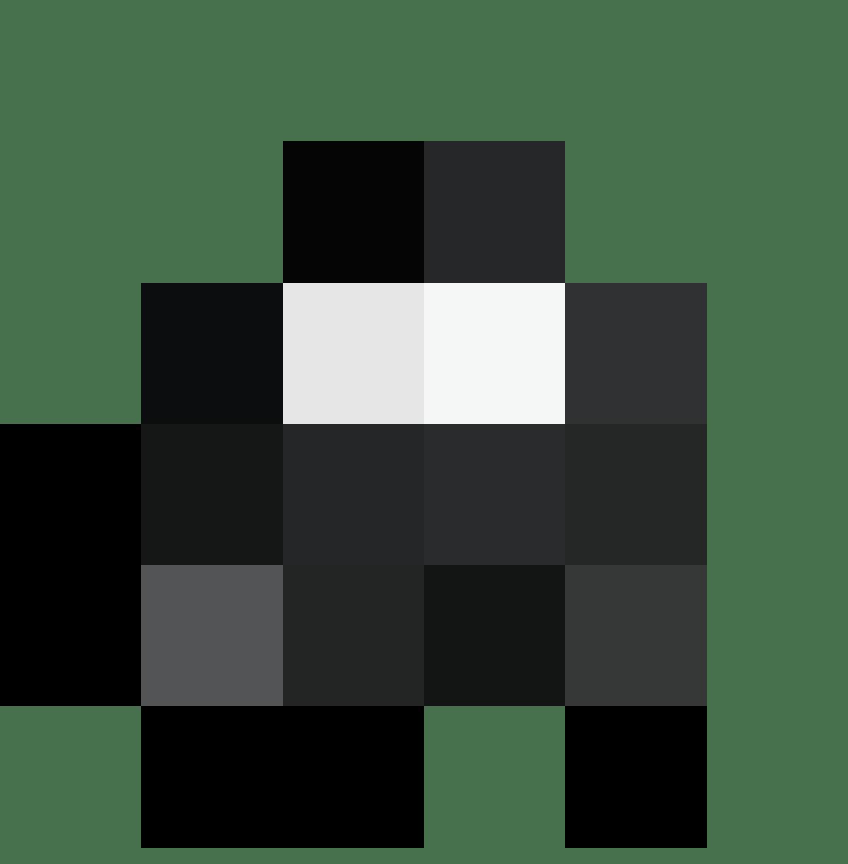 HAL Merch CAP H Black CURVE